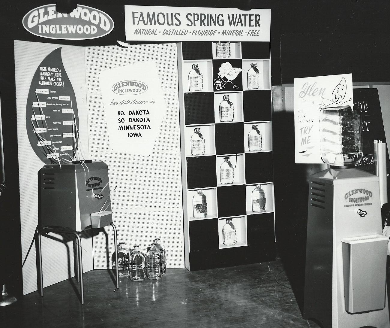 Tradeshows were commonplace for the Glenwood-Inglewood company in their heyday. This is a glimpse at one of their setups in the 1950s.